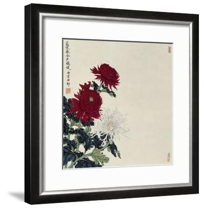Winter Flowers-Hsi-Tsun Chang-Framed Giclee Print