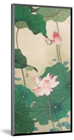 Two Butterflies and Lotuses-Hsi-Tsun Chang-Mounted Giclee Print