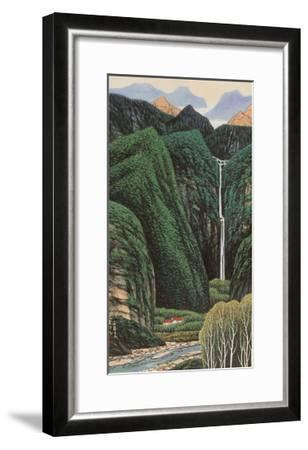 Tranquil Life in Mountains-Chingkuen Chen-Framed Giclee Print