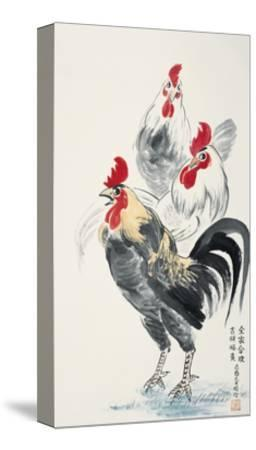 Happy Family-Guozen Wei-Stretched Canvas Print