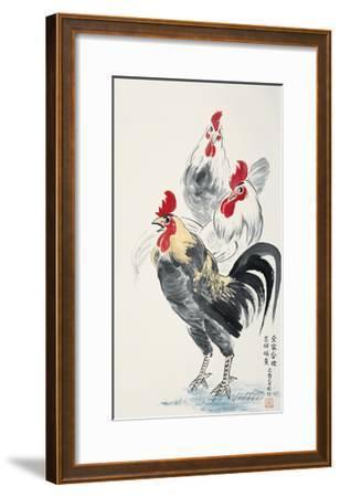Happy Family-Guozen Wei-Framed Giclee Print