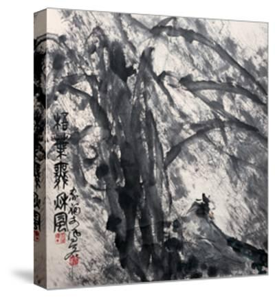 Phoenix Tree in the Wind-Deng Jiafu-Stretched Canvas Print