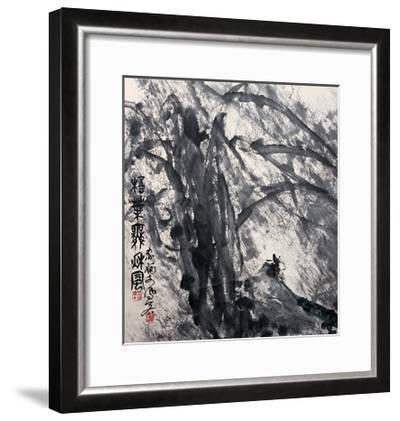 Phoenix Tree in the Wind-Deng Jiafu-Framed Giclee Print