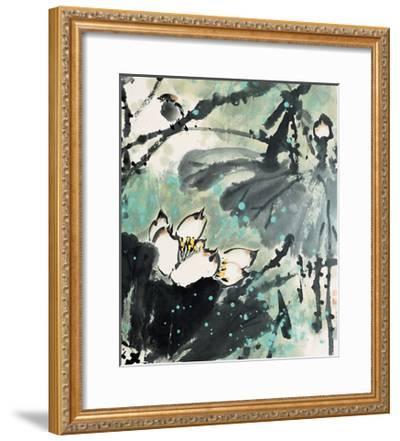 Lotus Series 22-Yunyue Zhu-Framed Giclee Print