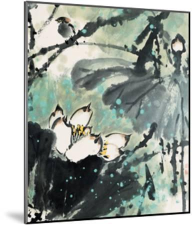 Lotus Series 22-Yunyue Zhu-Mounted Giclee Print