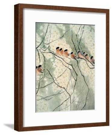 Aroma of Early Spring-Minrong Wu-Framed Giclee Print