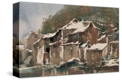 Spring Snow-Wanqi Zhang-Stretched Canvas Print