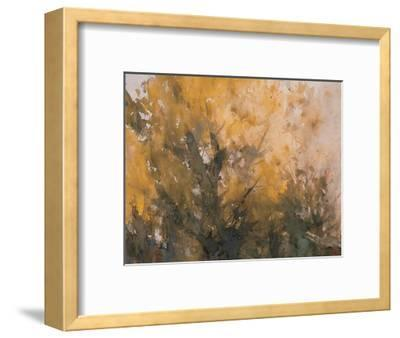 Trees in Autumn-Wanqi Zhang-Framed Giclee Print
