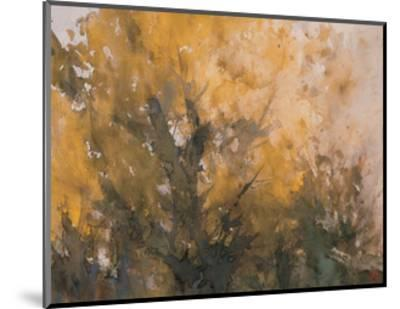 Trees in Autumn-Wanqi Zhang-Mounted Giclee Print