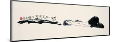 Woman on the Ground-Zui Chen-Mounted Giclee Print