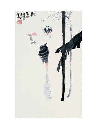 Encountering the Rain-Zui Chen-Premium Giclee Print