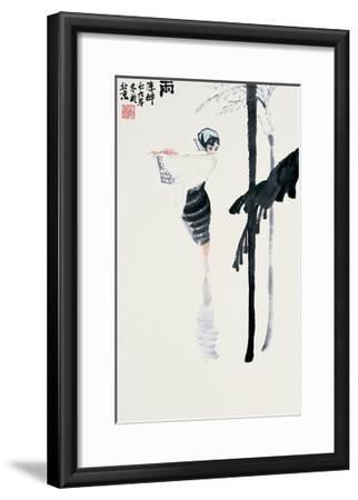 Encountering the Rain-Zui Chen-Framed Premium Giclee Print