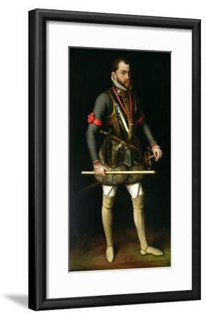 Philip II (1527-98) of Spain-Antonis Mor-Framed Giclee Print