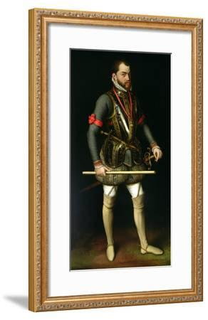 Philip II (1527-98) of Spain-Antonis Mor-Framed Giclee Print