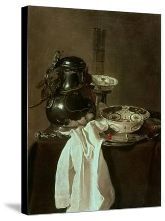 Pewter, China and Glass, 1649-Jan Jansz Treck-Stretched Canvas Print