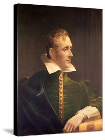 Sir Thomas Stamford Raffles (1781-1826)-James Lonsdale-Stretched Canvas Print