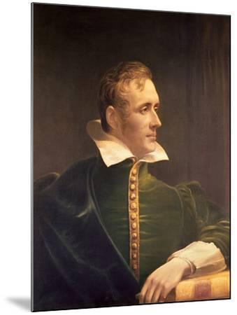 Sir Thomas Stamford Raffles (1781-1826)-James Lonsdale-Mounted Giclee Print