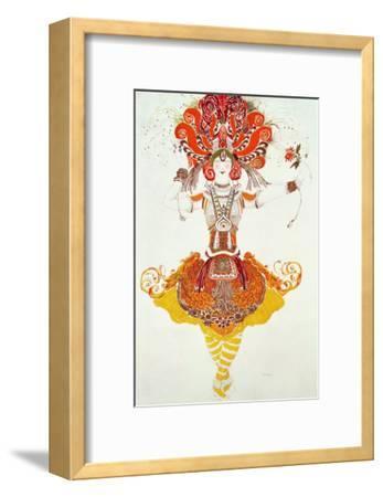 """Ballet Costume for """"The Firebird,"""" by Stravinsky-Leon Bakst-Framed Giclee Print"""