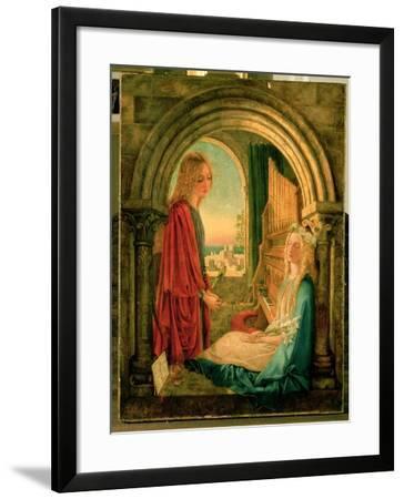 Annunciation, 1859-Charlotte E. Babb-Framed Giclee Print