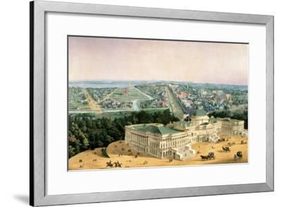 View of Washington, Pub. by E. Sachse & Co., 1852--Framed Giclee Print