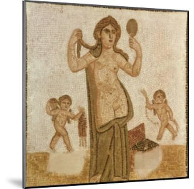 Venus at Her Toilet, from Thuburbo-Majus, Roman, 3rd Century AD--Mounted Giclee Print