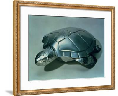 Soup Tureen in Form of a Turtle, 1790s--Framed Giclee Print