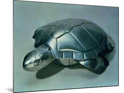Soup Tureen in Form of a Turtle, 1790s--Mounted Giclee Print