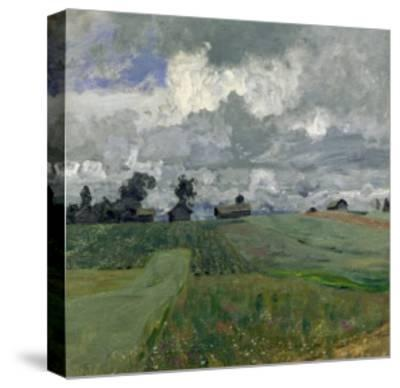 Stormy Day, 1897-Isaak Ilyich Levitan-Stretched Canvas Print