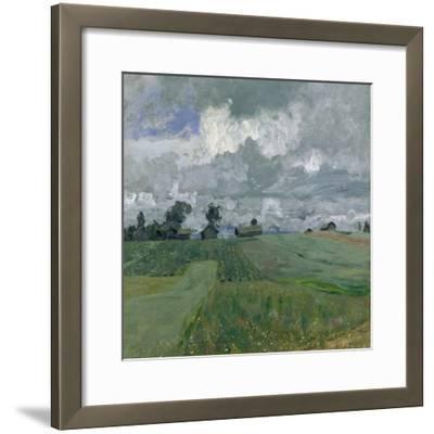 Stormy Day, 1897-Isaak Ilyich Levitan-Framed Giclee Print