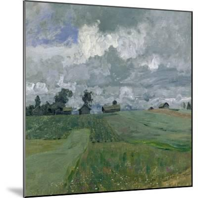 Stormy Day, 1897-Isaak Ilyich Levitan-Mounted Giclee Print