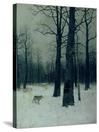 Wood in Winter, 1885-Isaak Ilyich Levitan-Stretched Canvas Print