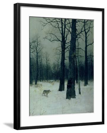 Wood in Winter, 1885-Isaak Ilyich Levitan-Framed Giclee Print