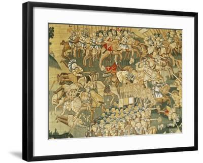 The Battle of Jarnac and the Assassination of Louis I of Bourbon (1530-69) 1570-80--Framed Giclee Print