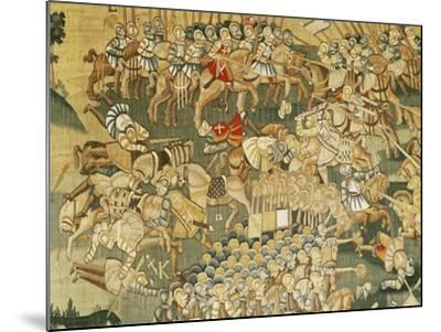The Battle of Jarnac and the Assassination of Louis I of Bourbon (1530-69) 1570-80--Mounted Giclee Print
