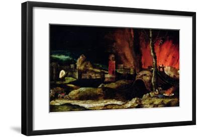 Christ in Limbo-Hieronymus Bosch-Framed Giclee Print