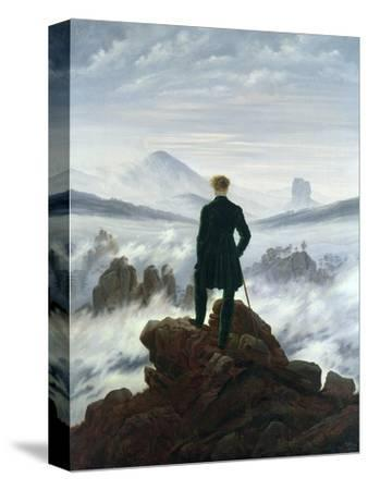 The Wanderer Above the Sea of Fog, 1818-Caspar David Friedrich-Stretched Canvas Print