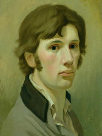 Self-Portrait, 1802-Philipp Otto Runge-Framed Giclee Print