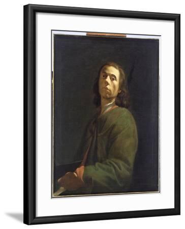 Self Portrait-Dietrich Ernst Andreae-Framed Giclee Print