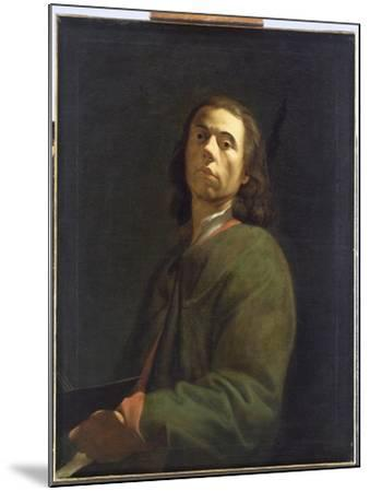Self Portrait-Dietrich Ernst Andreae-Mounted Giclee Print