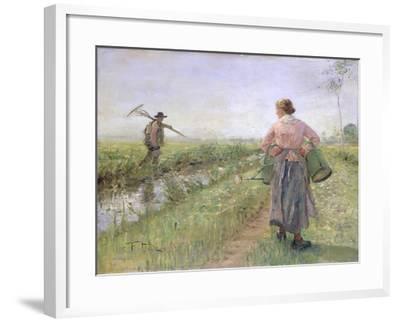 In the Morning, 1889-Fritz von Uhde-Framed Giclee Print