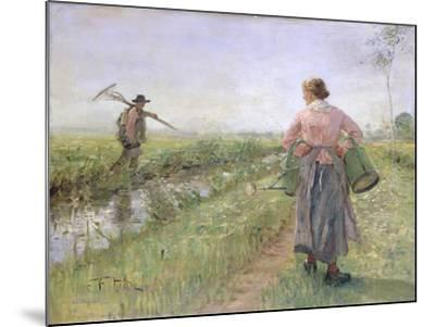 In the Morning, 1889-Fritz von Uhde-Mounted Giclee Print