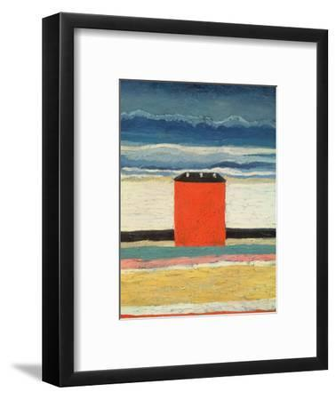 Red House, 1932-Kasimir Malevich-Framed Premium Giclee Print