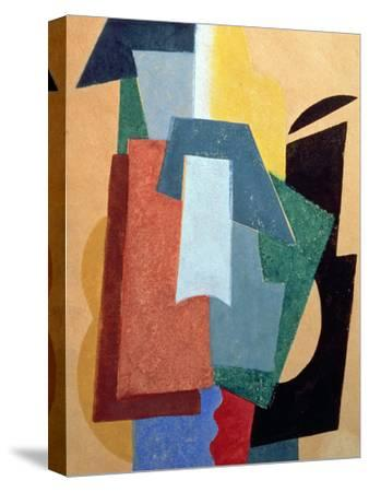 Summer, 1917-18-Liubov Sergeevna Popova-Stretched Canvas Print