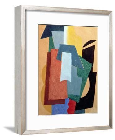 Summer, 1917-18-Liubov Sergeevna Popova-Framed Giclee Print