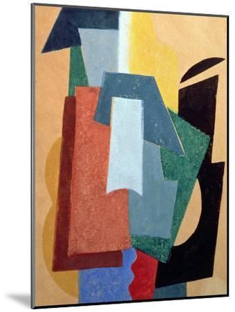 Summer, 1917-18-Liubov Sergeevna Popova-Mounted Giclee Print