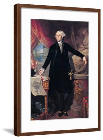Portrait of George Washington (1732-99) 1796-Jose Perovani-Framed Giclee Print