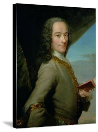 Portrait of the Young Voltaire (1694-1778)--Stretched Canvas Print