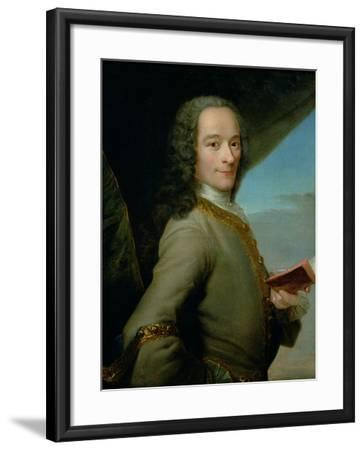 Portrait of the Young Voltaire (1694-1778)--Framed Giclee Print