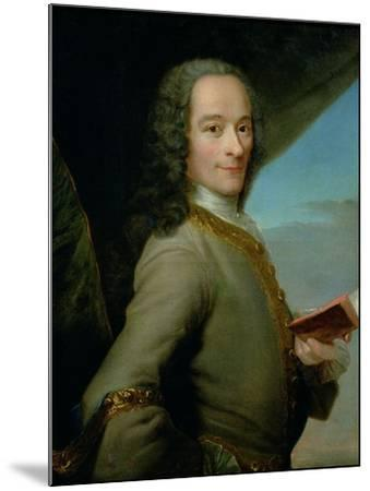 Portrait of the Young Voltaire (1694-1778)--Mounted Giclee Print