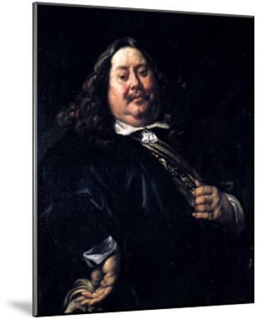 Portrait of a Man-Jacob Jordaens-Mounted Giclee Print